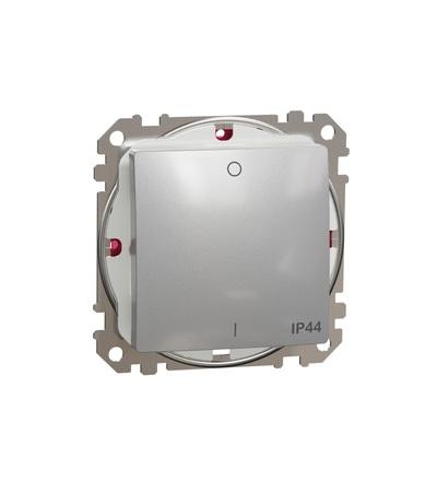 SDD213102 Spínač dvojpólový ř.2 IP44, Aluminium, Schneider electric