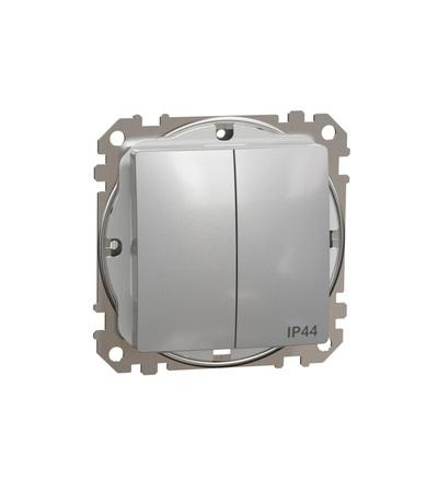 SDD213105 Přepínač sériový ř.5 IP44, Aluminium, Schneider electric