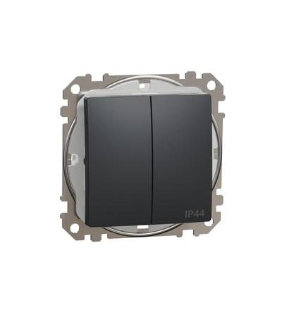 SDD214105 Přepínač sériový ř.5 IP44, Antracit, Schneider electric