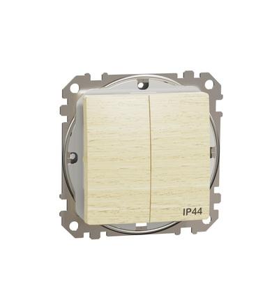 SDD280105 Přepínač sériový ř.5 IP44, Bříza, Schneider electric
