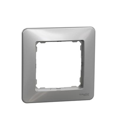 SDD313801 Rámeček jednonásobný, Aluminium, Schneider electric