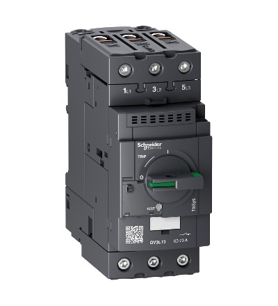 GV3L73 Motorový jistič bez tepelné sp. 73A, Schneider Electric