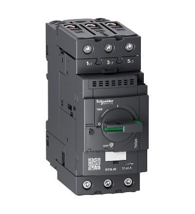 GV3L80 Motorový jistič bez tepelné sp. 80A, Schneider Electric