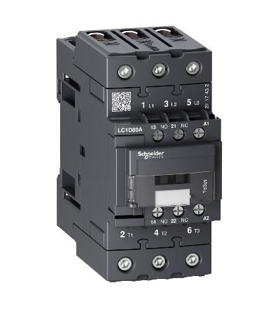 Schneider Electric Stykač 80A AC-3 3P 240V AC LC1D80AU7