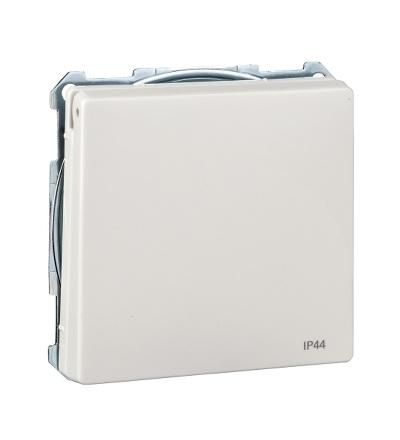 MTN2614-4019 Zásuvka IP44 se zemn.kolíkem a víčkem, S-Design, polar, Schneider Electric