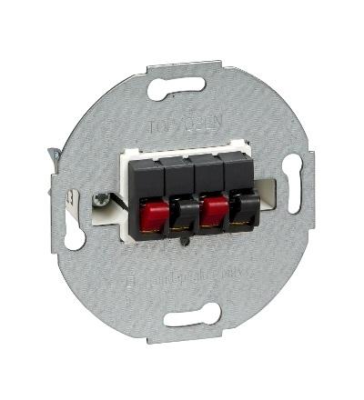 MTN467014 Svorky pro připojení reprodutorů dvojnásobné, antracit, Schneider Electric