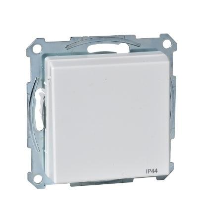 MTN2614-0319 Zásuvka IP44 se zemn.kolíkem a víčkem, System M, polar, Schneider Electric