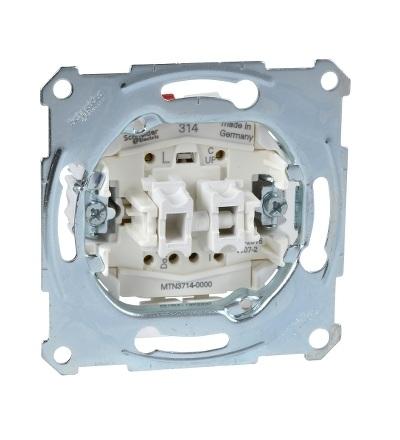 MTN3714-0000 Mechanismus spínače žaluzií s přídavným kontaktem, 10A, Schneider Electric