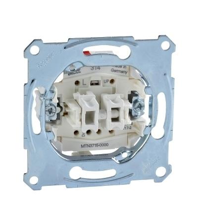 MTN3715-0000 Mechanismus spínače žaluzií , 10A, Schneider Electric