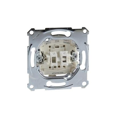 MTN3755-0000 Mechanismus ovládače žaluzií tlačítkového ř.1/0+1/0, 10A, Schneider Electric
