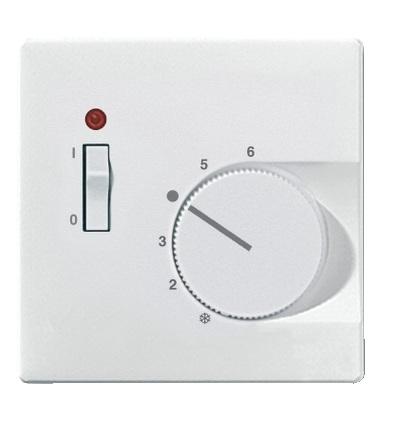 MTN539719 Centrální deska pro mechanismus ovládání teploty místnosti se spínačem, S-Design, polar, Schneider Electric