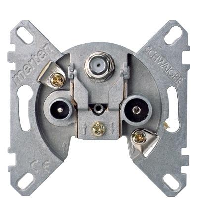 MTN466097 Mechanismus zásuvky TV-R-SAT, Schneider Electric