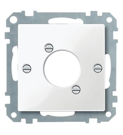 MTN468019 Centrální deska pro audio zástrčku XLR, System M, polar, Schneider Electric