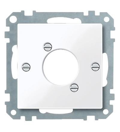 MTN468025 Centrální deska pro audio zástrčku XLR, System M, active, Schneider Electric