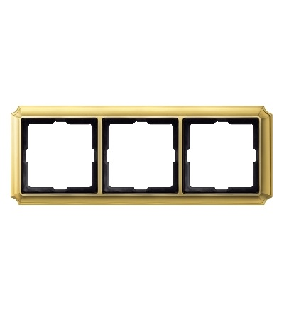 MTN483321 Rámeček Antique, trojnásobný, Brass, Schneider Electric