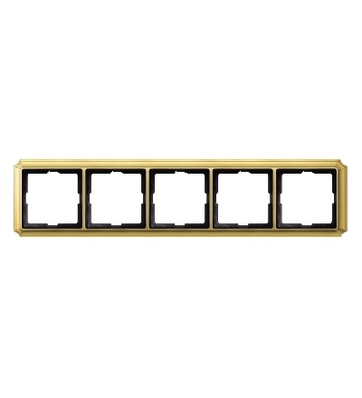 MTN483521 Rámeček Antique, pětinásobný, Brass, Schneider Electric