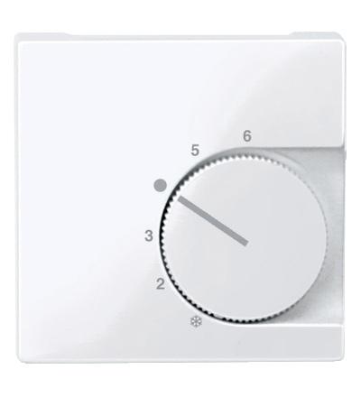 MTN534725 Centrální deska pro mechanismus ovládání teploty místnosti se spínačem, System M, active, Schneider Electric