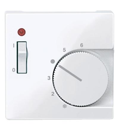 MTN534825 Centrální deska pro mechanismus ovládání teploty místnosti se spínačem, System M, active, Schneider Electric
