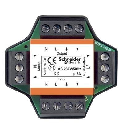 MTN576398 Relé pro vícenásobné ovládání rolet, zapuštěné, Schneider Electric