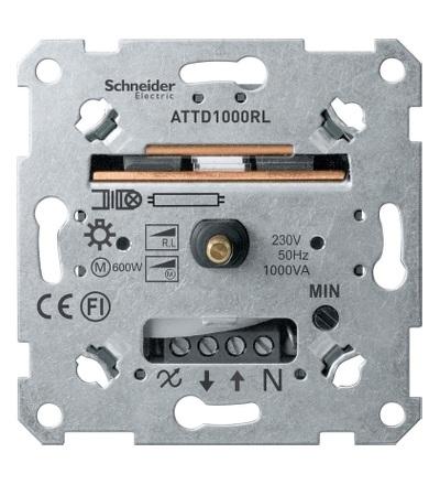 MTN5135-0000 Mechanismus otočného stmívače pro induktivní zátěž, 60-1000 VA, Schneider Electric