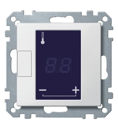 MTN5775-0319 Centrální deska pro univerzální termostat, System M, polar, Schneider Electric