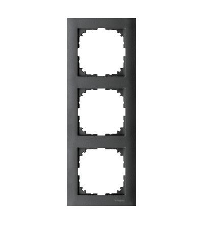 MTN4030-3614 Rámeček 3násobný M-Pure, antracit, Schneider Electric