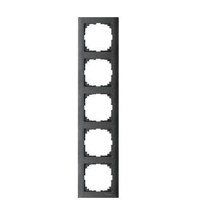 MTN4050-3614 Rámeček 5násobný M-Pure, antracit, Schneider Electric