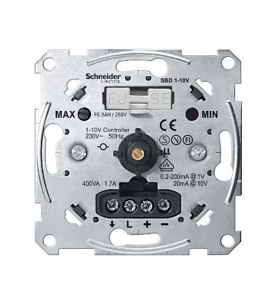 MTN5142-0000 Mechanismus stmívače s elektronickým potenciometrem 1-10 V, Schneider Electric