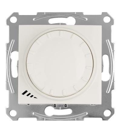 SDN2201223 Stmívač otočný univerzální pro LED 230 V zdroje, cream, Schneider Electric