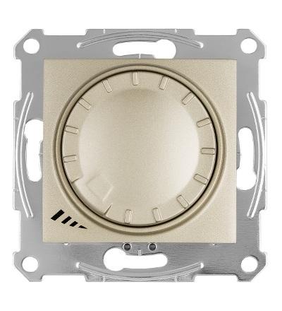 SDN2201268 Stmívač otočný univerzální pro LED 230 V zdroje, titan, Schneider Electric