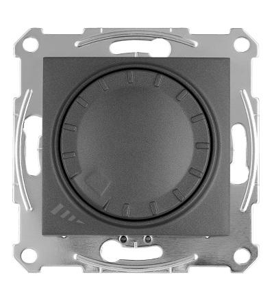 SDN2201270 Stmívač otočný univerzální pro LED 230 V zdroje, graphite, Schneider Electric