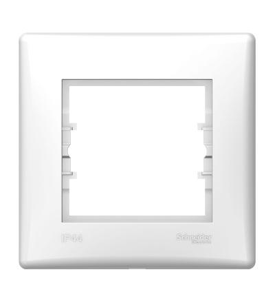 SDN5810521 Rámeček IP44 jednonásobný, polar, Schneider Electric