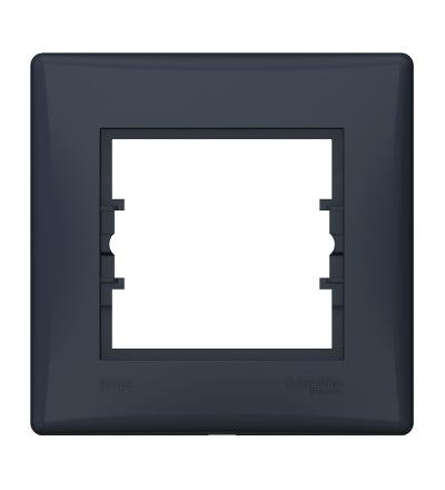 SDN5810570 Rámeček IP44 jednonásobný, graphite, Schneider Electric
