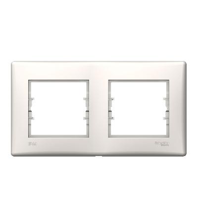 SDN5810623 Rámeček IP44 dvojnásobný, cream, Schneider Electric