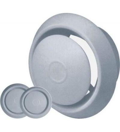 Anemostat plastový, bílý, s tlačnou aretací,  O 150 / 100 mm 600870