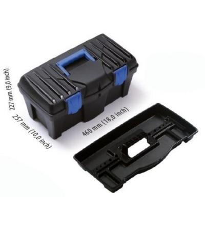 Box plastový, na nářadí, Caliber, 400 x 200 x 186 mm 600322