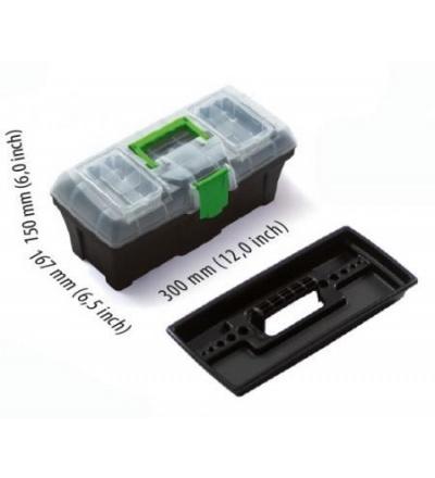 Box plastový, na nářadí, Greenbox, 300 x 167 x 150 mm 600329