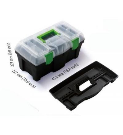 Box plastový, na nářadí, Greenbox, 458 x 257 x 227 mm 600331