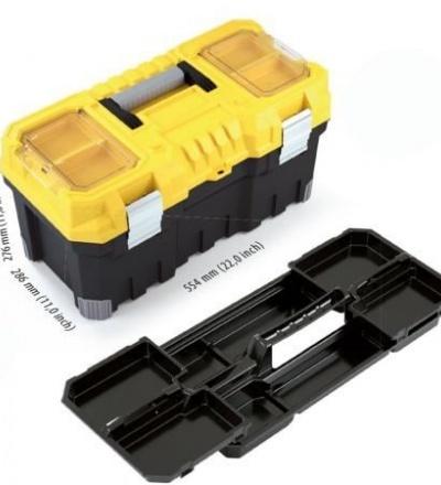 Box plastový, na nářadí, Titan, 554 x 286 x 276 mm 600319