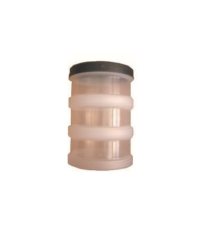Box plastový, šroubovací s víkem, 3 misky, O 95 x 130 mm 600414