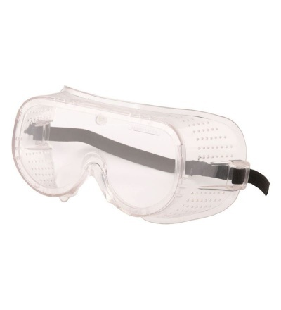 Brýle ochranné, s gumovým řemínkem 600131