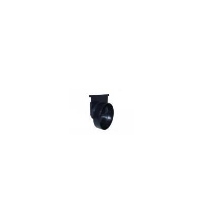 Doplňky pro odvodňovací žlaby, koncovka a výtok Solid, 127 x 130 mm 500652