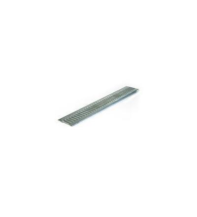 Doplňky pro odvodňovací žlaby, rošt pozinkovaný pro Solid, 1000 mm 500658