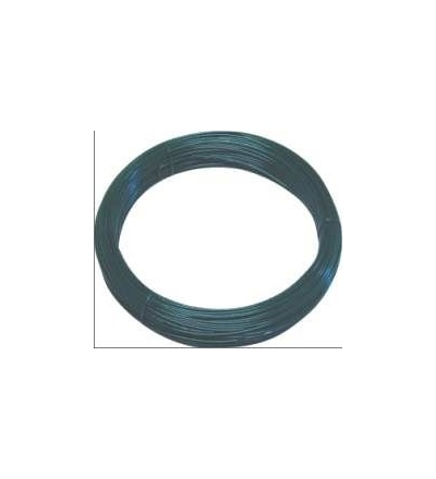 Drát napínací, poplastovaný, zelený, O 3,4 mm / 78 m 702001