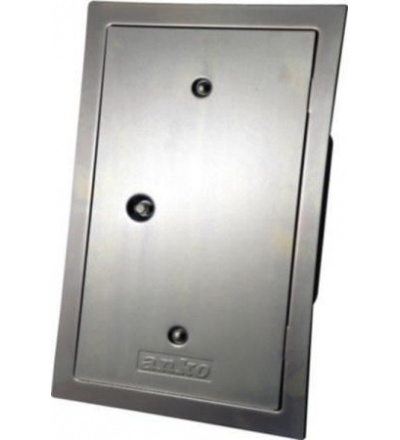 Dvířka komínová, pozinkovaná, rovná, 130 x 260 mm, standard 500905