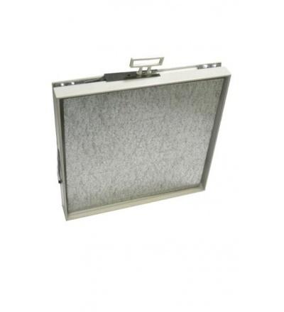 Dvířka maskovací, pozinkovaná, magnetická, 150 x 150 / 120 x 120 mm 600975