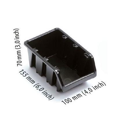 Ekobox plastový, 100 x 155 x 70 mm 600302