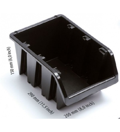 Ekobox plastový, 200 x 290 x 150 mm 600305