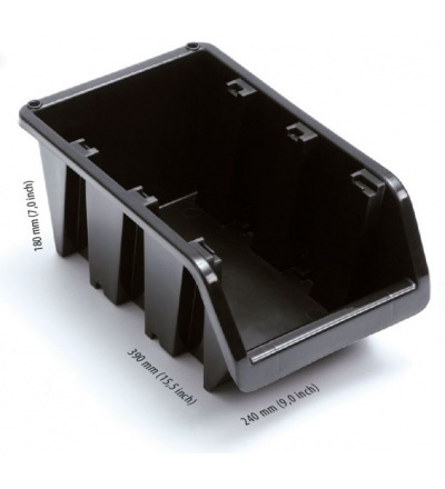 Ekobox plastový, 240 x 390 x 180 mm 600306
