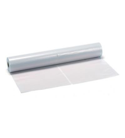 Fólie zakrývací, stavební, čirá, polorukáv, 75 µ, 2 x 50 m 600092